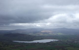 View of Llangorse Lake