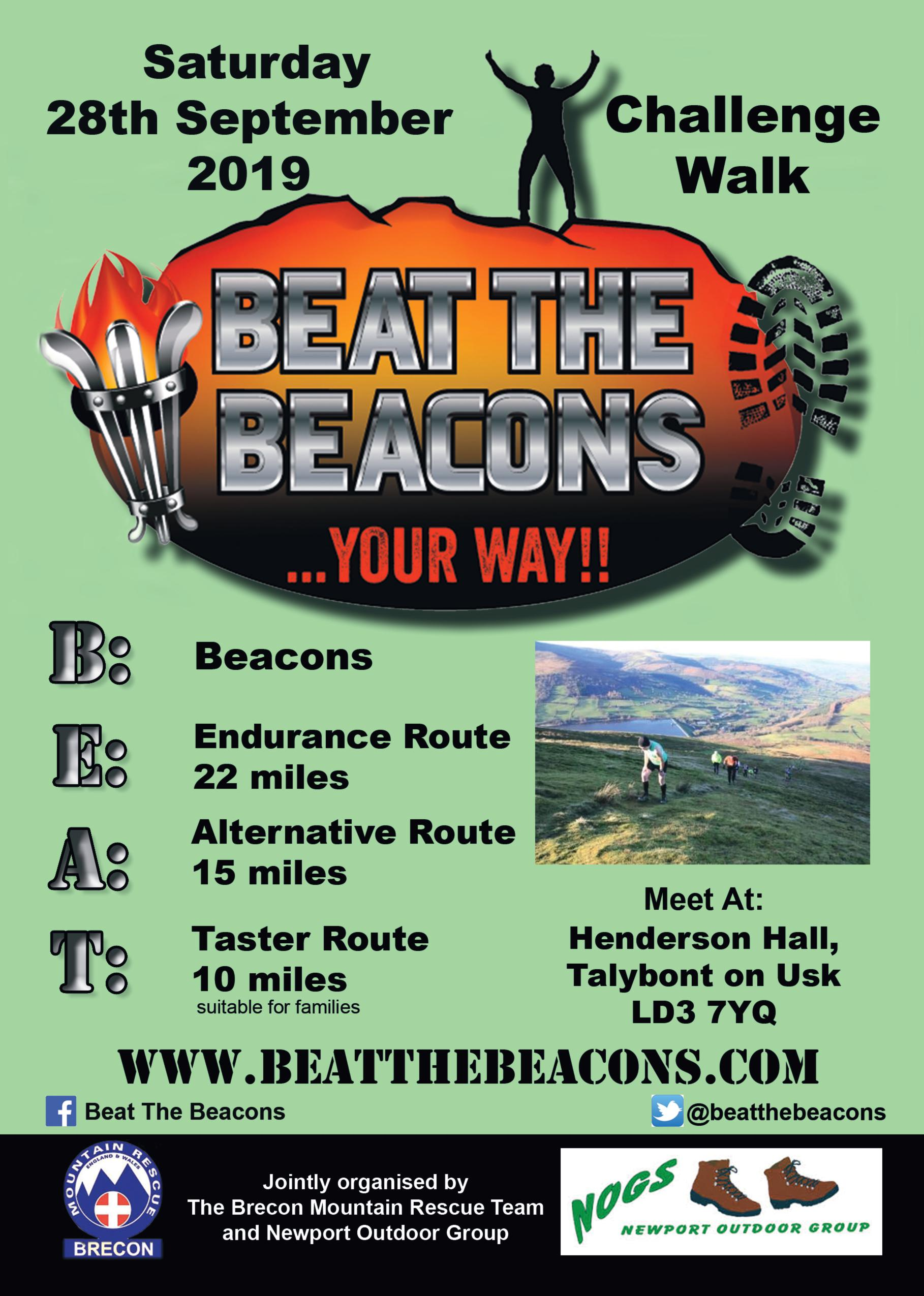 Beat the Beacons poster